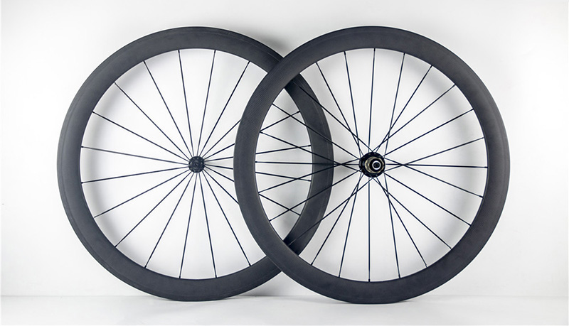 Hot sale T800 50mm 700C Road bike carbon font b wheels b font customized decals clincher