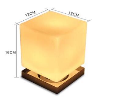 Lamp Slaapkamer Nachtkastje : Originele creatieve tafellampen persoonlijkheid vierkante lamp