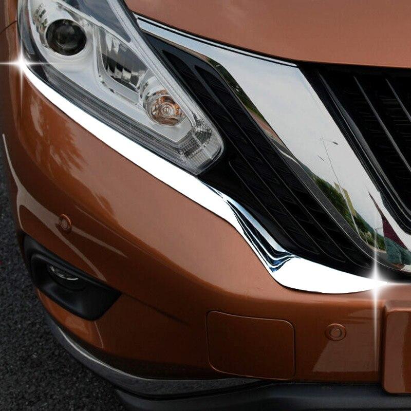 2017 Nissan Murano Exterior: For Nissan Murano 2015 2017 2018 Chrome Front Head Light