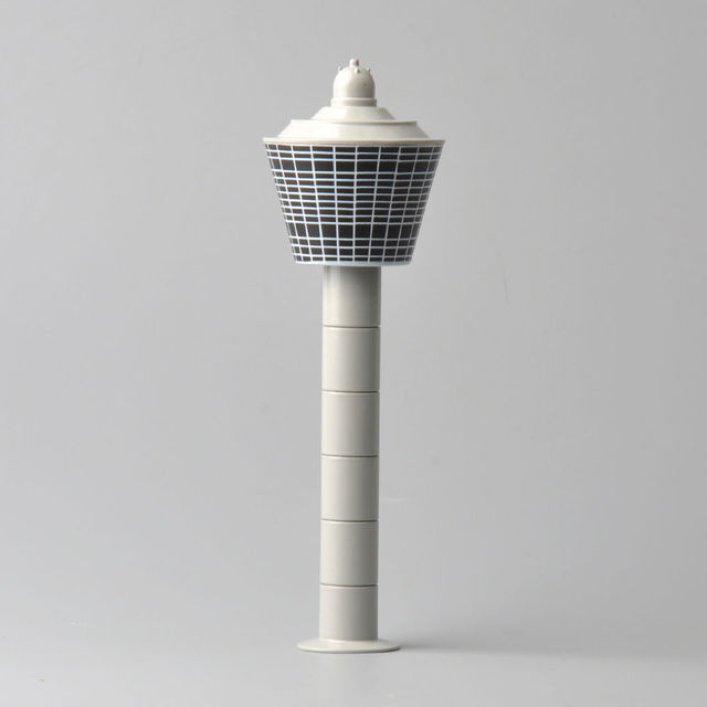 New Style 1/400 Scale White Diecast Airport Tower Sets Scenix Series Model Toys For Airplane Gifts Collections