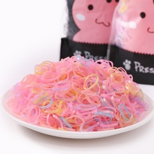 1000PCS/Lot Disposable Gum For Hair Children TPU Rubber Bands Ponytail Holder Elastic Band Girls Scrunchie Accessories