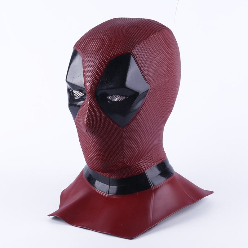 Deadpool 2 Marvel Deadpool Masks Halloween Cosplay Costume Props Superhero Movie Latex Mask Collectible Toys Full