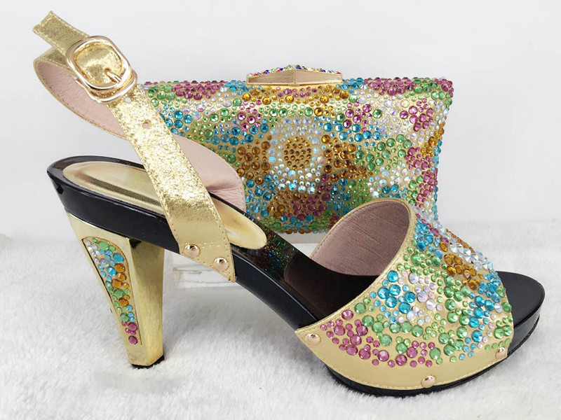 African shoe and bag set gold new design ladies matching shoe and bag italy heel height 11cm matching shoes and bags for wedding велосипед orbea boulevard 10 2014