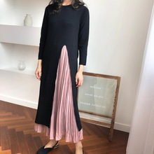 two knitted chiffon vintage