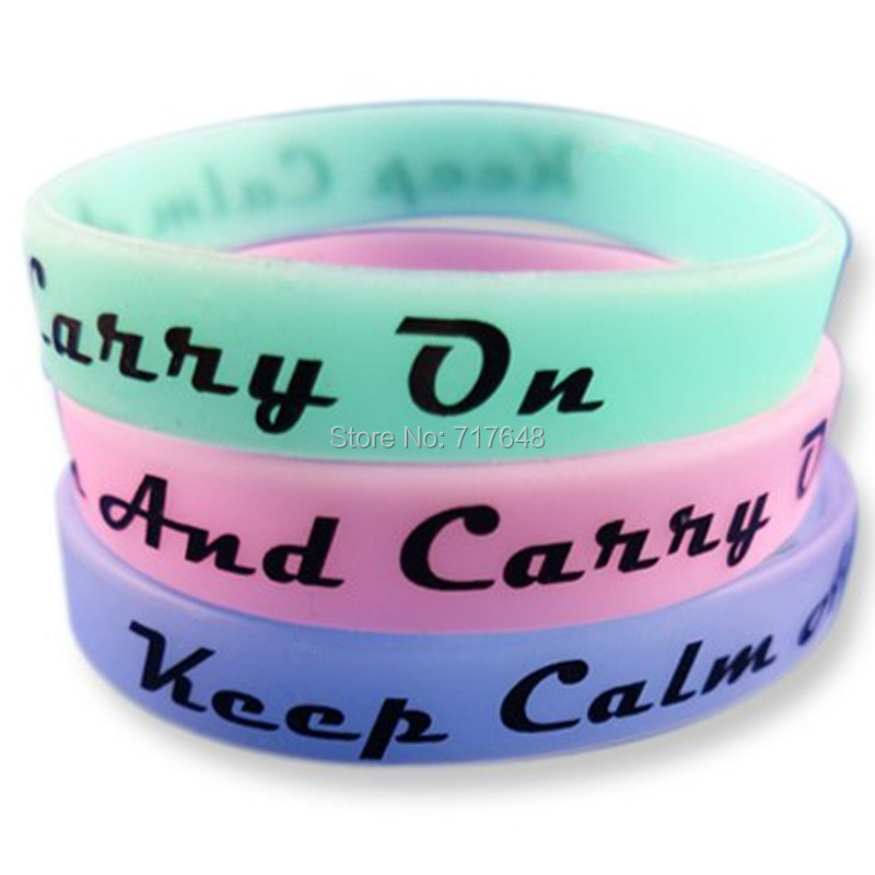 HANJUNSHSY 300pcs Keep Calm and Carry On night bright in