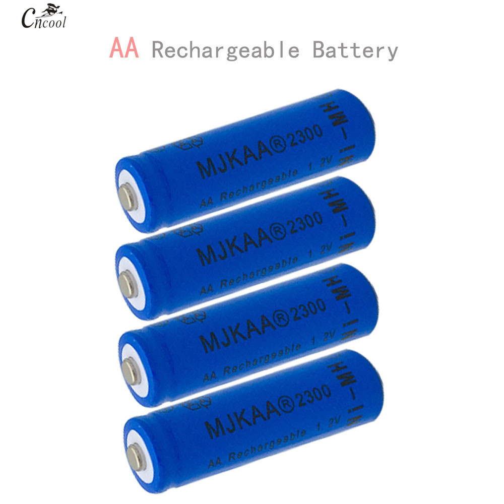 10pcs a lot Ni-MH 2300mAh AA Batteries 1.2V AA Rechargeable Battery NI-MH battery for Remote control Toys LED lights