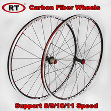 RT 700C Ultra light Carbon Fiber Road font b Bicycle b font font b Wheels b