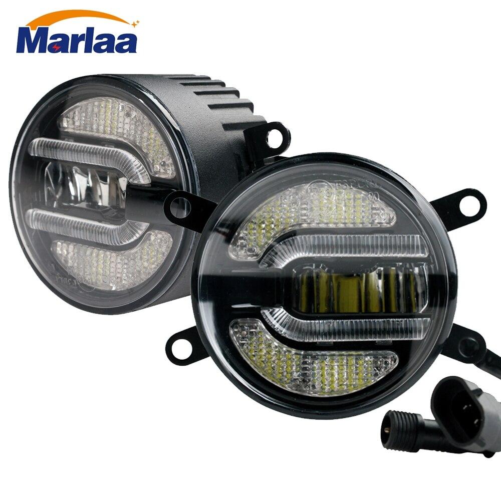 Marlaa ensemble de lampes antibrouillard LED 3.5 pouces pour Ford Focus/Explorer/Ranger Acura TSX/TL/RDX Nissan Frontier/Xterra