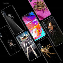 Poisonous spider Case for Samsung Galaxy A50 A70 A80 A60 A40 A30 A20 A10 M30 M20 M10 A6 A8 Plus A5 A7 A9 2018 TPU Phone Cover(China)