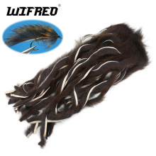 Wifreo Micro Pine Tupai Strip To Zonk Out Terbang Mengikat Matukas Ukuran Hook 4 6 8 Ukuran Kecil Streamer Fying Bahan Alam warna(China)