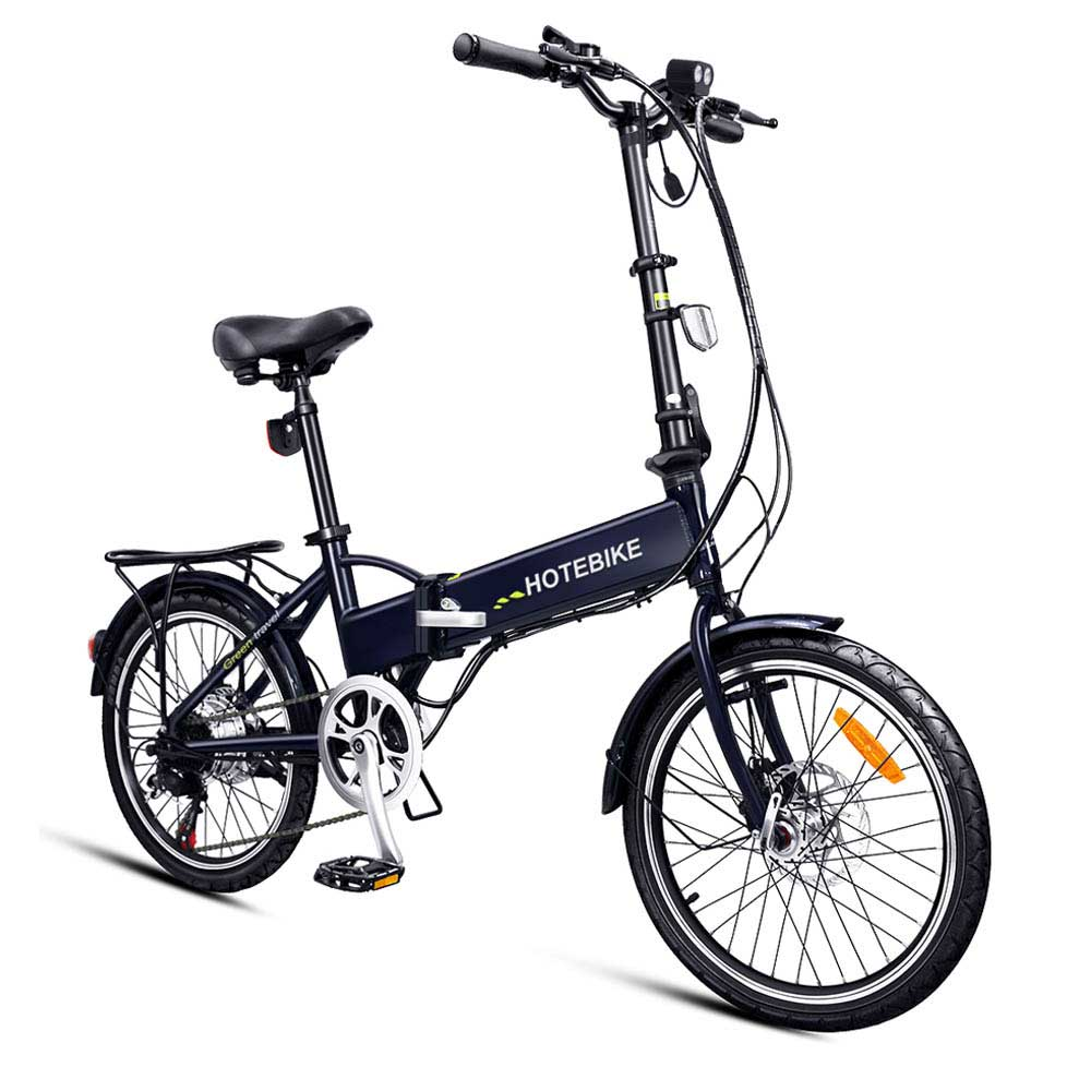 Best free shipping 20 inch aluminum alloy frame best folding electric bike 5