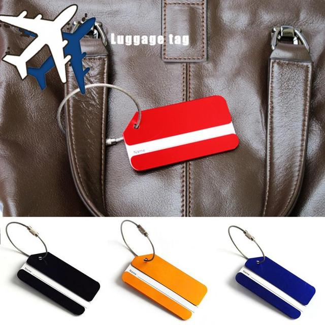 AluminumTravel Luggage Tags
