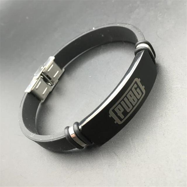 Мужской браслет pubg нержавеющая сталь 5