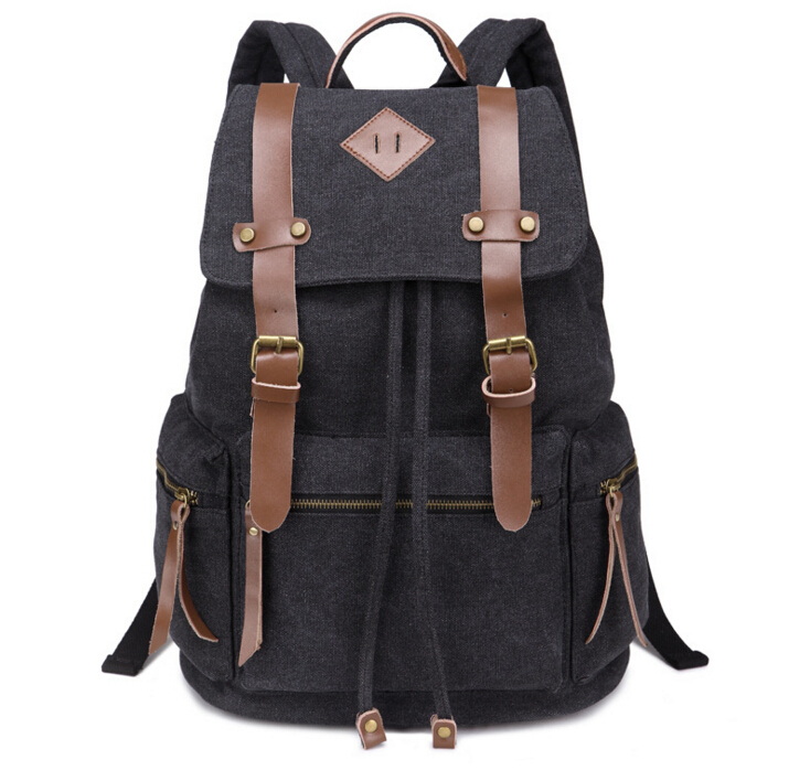 ETN BAG 051416 new hot student school bag canvas travel bakcpack