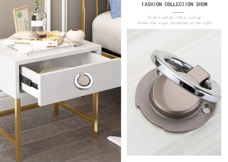 HTB1.LdsLNTpK1RjSZFMq6zG VXaj - New solid Concealed drawer knob ring round handles Wardrobe Cupboard Door handles for interior doors Pulls Furniture Hardware