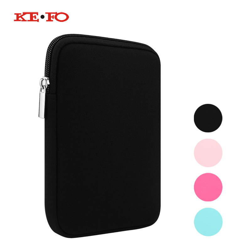 KeFo Funda tablet 10.1 Universal Protective Travel Pouch Zipper Bag Cover case For ipad 2017 For Apple New iPad 9.7 2017 A1822 Price $6.89