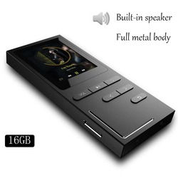 8g / 16G Hi-Fi MP4 music player without loss 70 hours playback build-in speaker voice recorder / FM Radio expandable up to 64GB