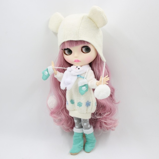 factory blyth doll bjd combination doll with clothes shoes or new face naked doll 1/6 30cm 2