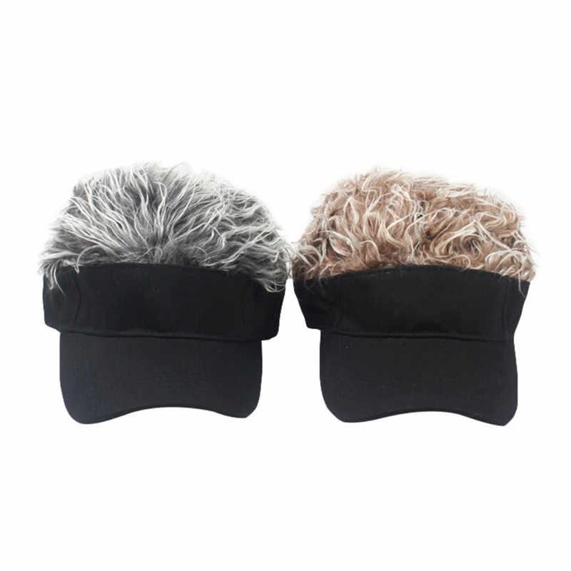 Unisex wig baseball cap golf  hat