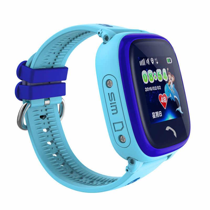 IP67 Waterproof 2019 New GPS Baby Watch Phone DF25 SOS Call Location Kids Smart Watch Clock Anti-Lost Monitor Pk Q50 Q90 Q100