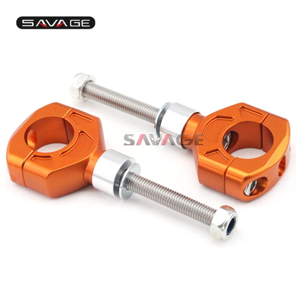 Universal 28mm Handlebar Clamp Cover Bar Riser Mount Bracket Adapter 40mm 50mm Black/Orange/S Motorcycle CNC Aluminum