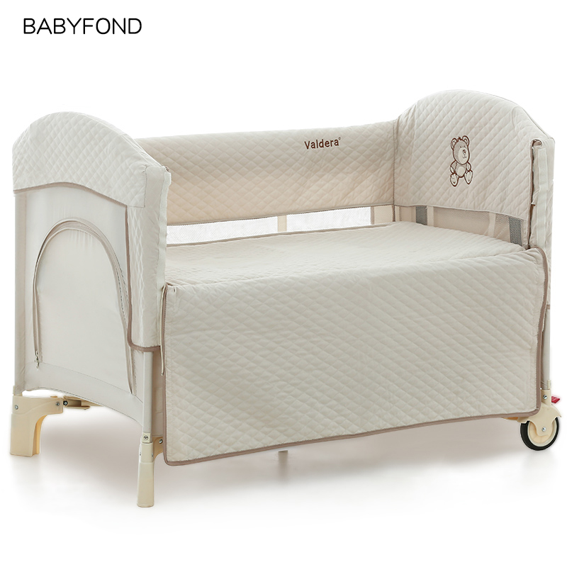 2018 Kids Sleeping  Baby Beds High Quality cotton Baby Game Bed Joint With Mum Newborn Send Bumpers2018 Kids Sleeping  Baby Beds High Quality cotton Baby Game Bed Joint With Mum Newborn Send Bumpers