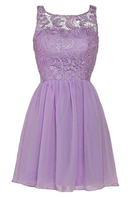 Sheer Neckline C Black Purple Silver Lace Short Bridesmaid Dresses Elegant Chiffon Wedding Party In From Weddings