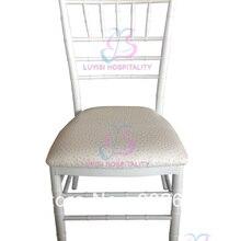 White big aluminum Chiavari wedding chair