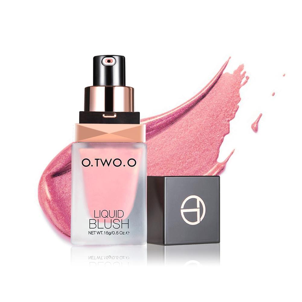 Makeup Blush Liquid Woman's Fashion Pink Decoration Blusher Stick Nude Makeup Repair Blush Rouge Long Lasting Beauty Products