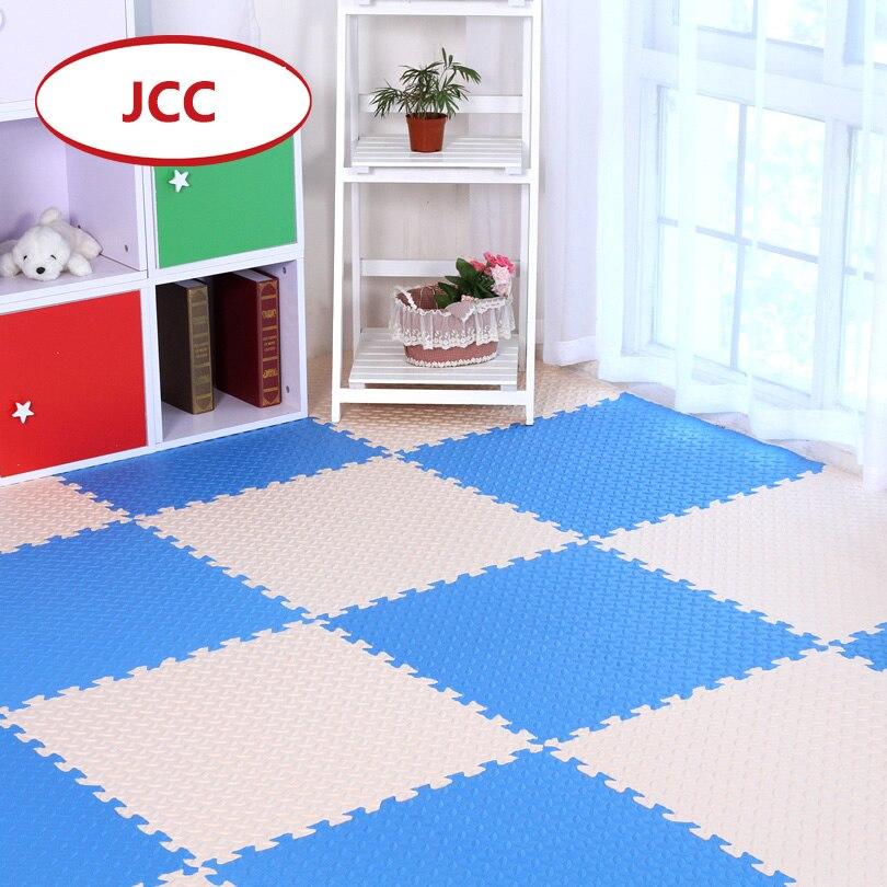 Oyuncaklar ve Hobi Ürünleri'ten Oyun Paspasları'de JCC Mix Yaprak Desen Bebek EVA Köpük Bulmaca oyun matı/çocuk Kilim halı Birbirine Egzersiz Kat çocuklar için Fayans 60*60*1.2 cm'da  Grup 1