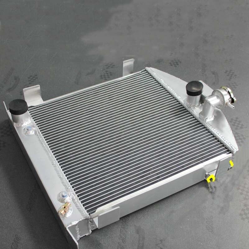 Aluminum Radiator For Ford Hot Rod Chopped W/Ford 302 V8