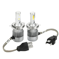 CO LIGHT H4 Led 72W High Low Beam 36W Bulb H4 Cob Chip Waterproof Car Driving