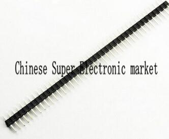 10PCS 2mm 40 Pin Male Single Row Pin Header Strip