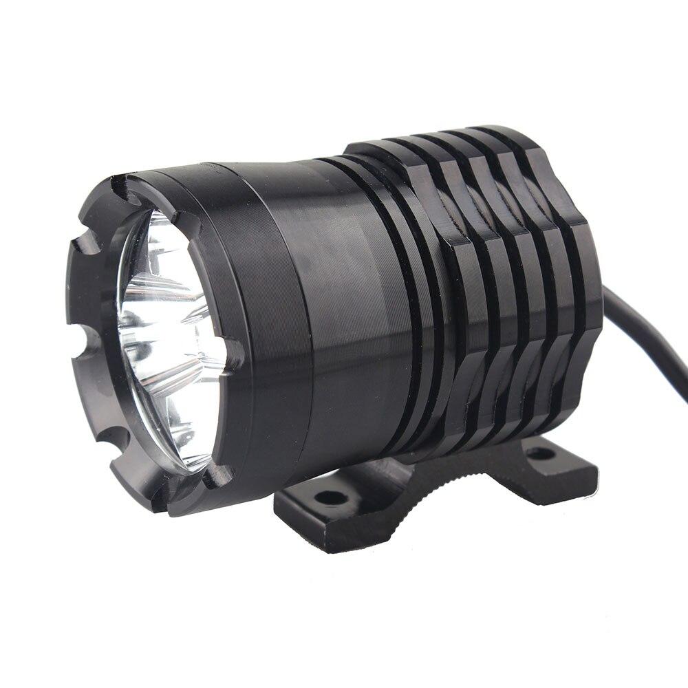 2017 New one pcs U21 Waterproof Motorcycle Strong LED Light External Lamp Fog Spot 40W 2980LM Motorbike Headlight