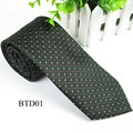 Men Silk Tie Polka Dot Classic Tie For Man Business Casual Knitted Men Neckties Cool New