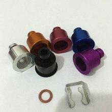 Подходит для toyota honda все 11 мм Топливная рампа Топливная форсунка расширитель адаптер ev1 ev6 ev14 все 14 мм Тип до 11 мм топ vitom oring includ