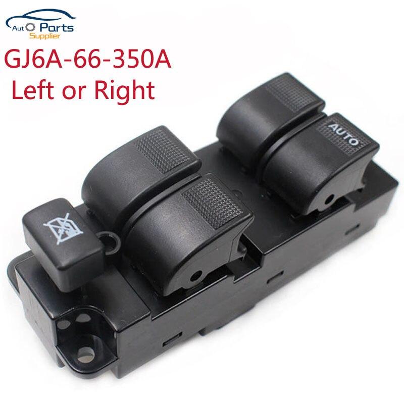 GJ6A-66-350A droite ou gauche pour Mazda 6 323 FML Premacy interrupteur de commande principal de fenêtre d'alimentation GJ6A66350A
