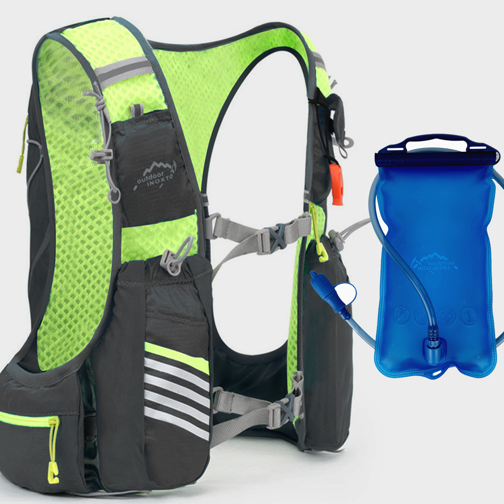Running Marathon Hydration Nylon 10L Outdoor Running Bags Hiking Backpack Vest Marathon Cycling Backpack