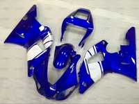 YZFR1 1998 1999 Full Body Kits for YAMAHA YZFR1 99 Fairing Kits YZF R1 98 Blue White Full Body Kits