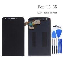"5.3 ""Lg G5 H850 H840 H860 F700 LCD ディスプレイタッチスクリーンデジタイザー交換 lg G5 液晶ディスプレイ修理キットツール"