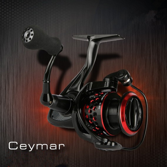цены OKUMA Ceymar 5000S Sea Reel 8BB Ratio 4.5:1 Max Drag Power 8Kg Saltwarter Spinning Fishing Reel Metal Spool Carp Fishing Coil
