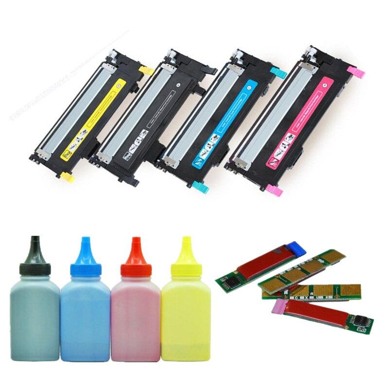 Refill Color Laser Toner Powder Kits for Samsung CLP315W CLP320 CLP325 CLX3175FN CLT409S CLT 409S K409S CLT-K409S Laser Printer Toner Powder 40g//Bottle,No Chips,1 Black,1 Cyan,1 Magenta,1 Yellow