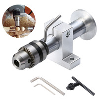 Live Revolving Centre With 3 Wrenches Chuck Revolving Centre For DIY Mini Woodworking CNC Lathe Machine