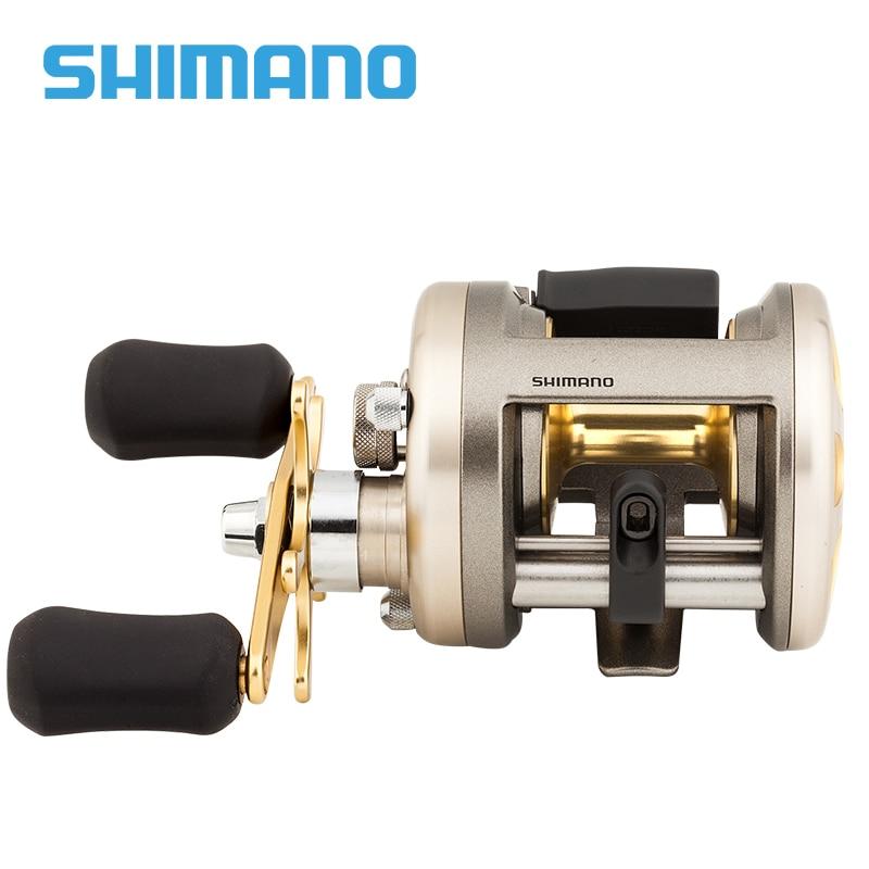 9a2d8e54bc3 Original Shimano CARDIFF 200A 201A 300A 301A 400A 401A Baitcasting Fishing  Reel 4+1BB Gear Ratio5.8:1 Max Drag 5kg Saltwater