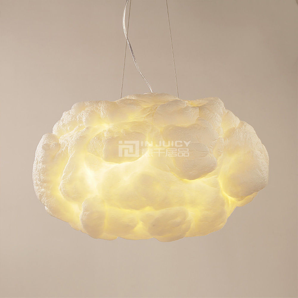 Modern led silk floating clouds iron ceiling chandelier pendant lamp modern led silk floating clouds iron ceiling chandelier pendant lamp lighting droplight party bedroom cafe bar restaurant lights in chandeliers from lights arubaitofo Gallery