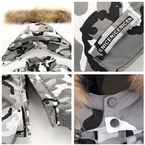 Image 3 - Marka Orangemom oficjalny sklep odzież dziecięca, zima 90% dół kurtki dla dziewcząt chłopców odzież na śnieg, dziecko dzieci płaszcze kombinezon