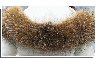 2017 Épaississement 10 Col Manteaux Green gris Moyen Nouvelles Vêtements De Cheveux blanc army Parkas Capuche Noir Longueur À Grand Femmes D'hiver Z4wZ6nrq