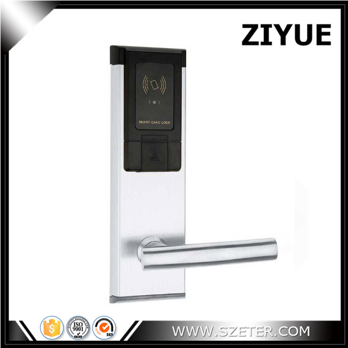 Electronic Smart Card Key  Hotel Card  Door Lock Hotel Security Lock with Software ET107RF