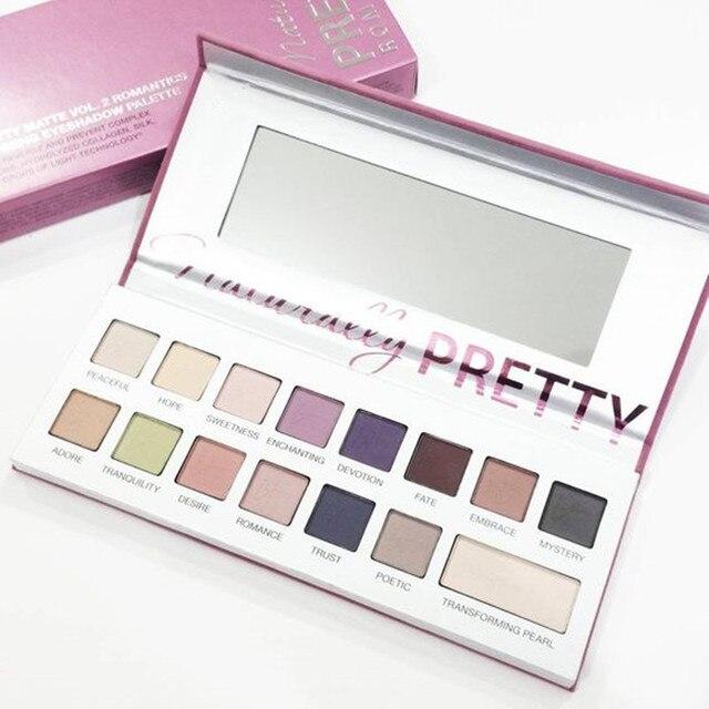 2016 A Estrenar, Naturalmente, Muy 16 color Mate Shimmer Maquillaje Paleta Sombra de ojos Para QUE Maquillaje Cosmo