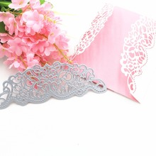 2019Making Scrapbook Greeting Card Decor Lace Hollow Frame Metal Cutting Dies Stencil Embossing Template